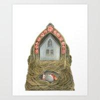 Sweet Home II // Polanshek Art Print