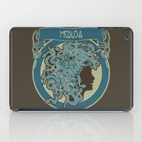 Medusa Silhouette (dark) iPad Case