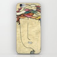 I don't need eyes to see where I am going.. iPhone & iPod Skin