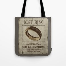 Lost Ring Tote Bag