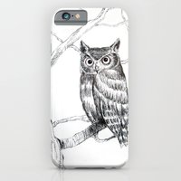 iPhone & iPod Case featuring Mr. Owl by Tiffany Willis