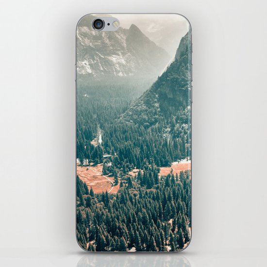 Yosemite Valley - Fall Colors iPhone & iPod Skin