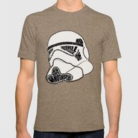 TROOPER TYPO Mens Fitted Tee Tri-Coffee SMALL