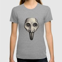Pulcinello Womens Fitted Tee Tri-Grey SMALL