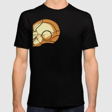Shell Head Black SMALL Mens Fitted Tee