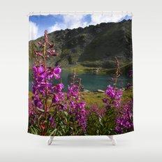 Fireweed - Hatcher Pass Alaska Shower Curtain