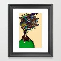 BigFoot & The Electrogas… Framed Art Print