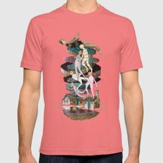 Fantasy Mens Fitted Tee Pomegranate SMALL
