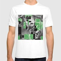 Pyramids, Light, Legs and Honey Mens Fitted Tee White SMALL