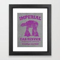 Imperial Car Service Framed Art Print