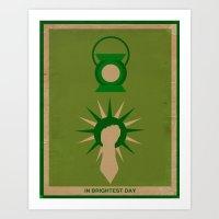 Minimalistic Lantern Art Print
