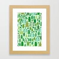 Forrest Framed Art Print