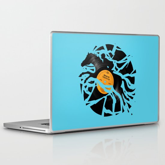 Disc Jockey Laptop & iPad Skin