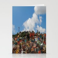 Colorful City Stationery Cards
