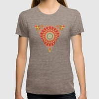 Mind Bending Trip Womens Fitted Tee Tri-Coffee SMALL