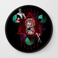Geometric Gods Wall Clock