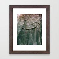 Deep Secret Framed Art Print