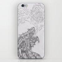 dragon fire artist iPhone & iPod Skin