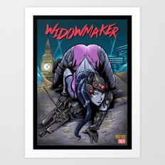The Amazing Widow Maker #1 Art Print