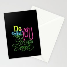 Do What You Love Stationery Cards