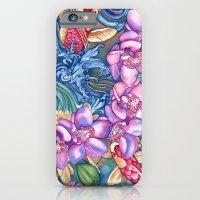 Orchid Splash iPhone 6 Slim Case