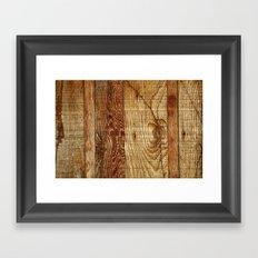 Wood Photography Framed Art Print
