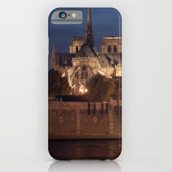 Paris by Night: Notre Dame iPhone & iPod Case