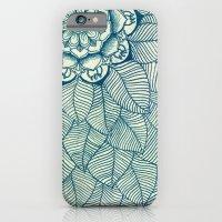 Emerald Green, Navy & Cr… iPhone 6 Slim Case