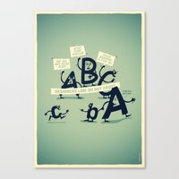 Type Rights Canvas Print