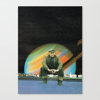 My Old Man Canvas Print