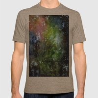 cosmic Mens Fitted Tee Tri-Coffee SMALL