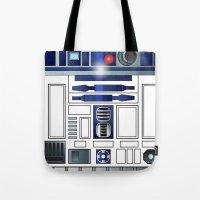 Shiny New Droid Tote Bag