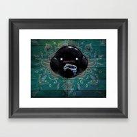 Oozing Blob Spirit Framed Art Print