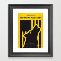 No338 My Wolf Wallstreet… Framed Art Print