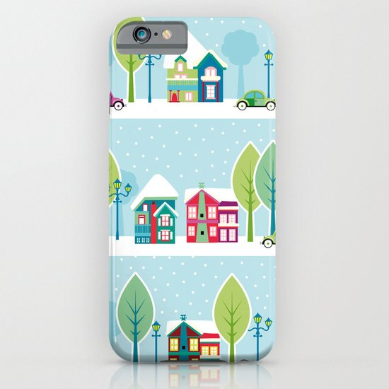 Ski house iPhone & iPod Case