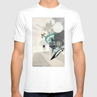ASCEND (version zero) Mens Fitted Tee White SMALL