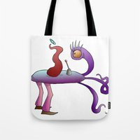 where are we going master? Tote Bag