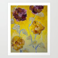 Flower Series 16 Art Print
