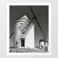 Don Quixote Art Print
