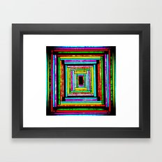 The Pattern Squared Framed Art Print