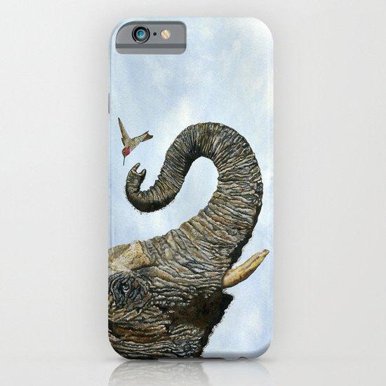 Elephant Cyril And Hummingbird Ayre iPhone & iPod Case