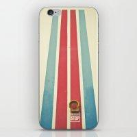 Emergency Stop iPhone & iPod Skin