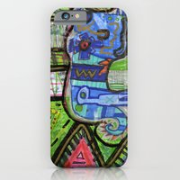 iPhone & iPod Case featuring Blue Guy by chrisdacs