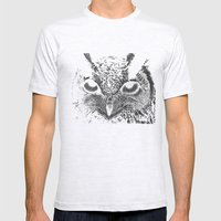 My Eyes Have Seen You (Owl) Mens Fitted Tee Ash Grey SMALL