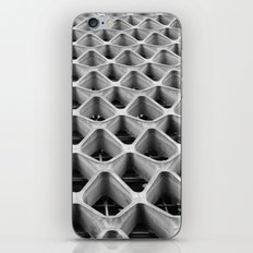 American Cement Building - Architectural Photography iPhone & iPod Skin