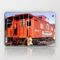 Lil Red Caboose -Wellsboro Ave Hurley ArtRave Laptop & iPad Skin