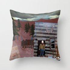Molson Throw Pillow