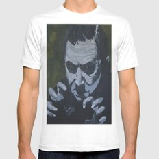 Dracula Mens Fitted Tee SMALL White