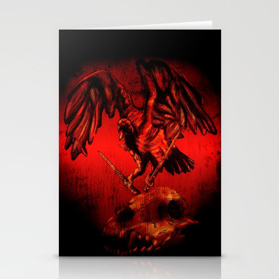 SWITCHBLADE VULTURE Stationery Card