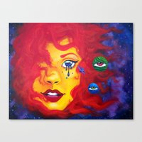 La Madre Sol Canvas Print